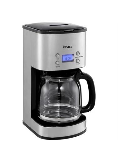 Vestel Vestel Sefa K3000 Inox Filtre Kahve Makinesi Renkli